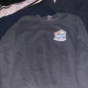 white castle sweatshirt